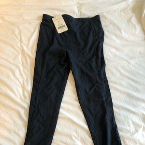 Fabletics zipper leggings NWT
